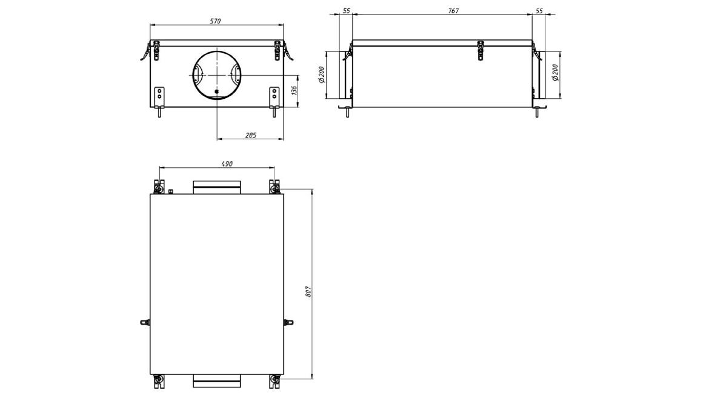 Приточная установка MiniBox.FKO