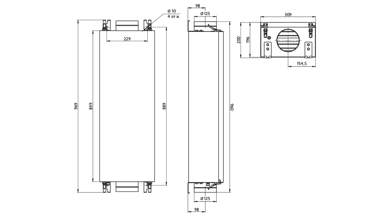 Приточная установка MiniBox.E-300