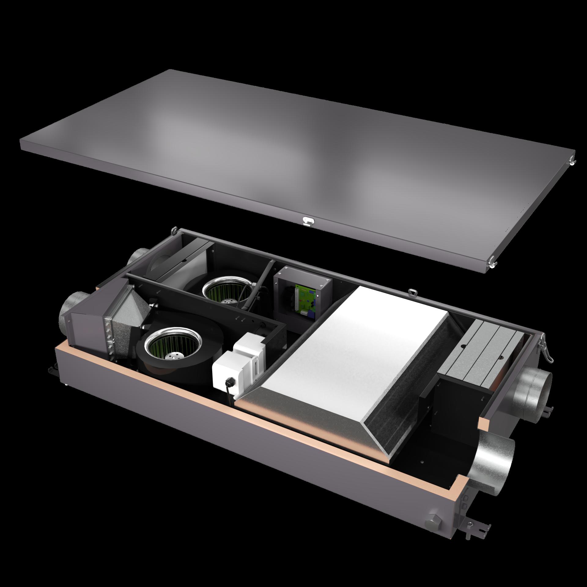 Канальная установка MiniBox.Save-350